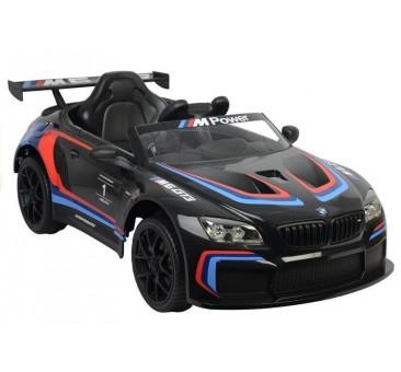 Elektromobilis BMW M6 GT3 juodas 12V