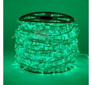 LED girlianda 100 m 2000 diodų žalia