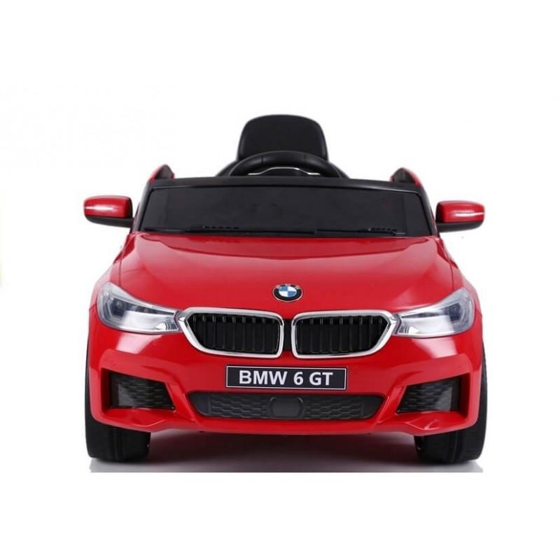 Elektromobilis BMW 6 GT raudonas vienvietis