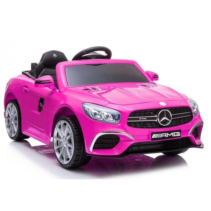 Elektromobilis MERCEDES SL63 rožinis 12V