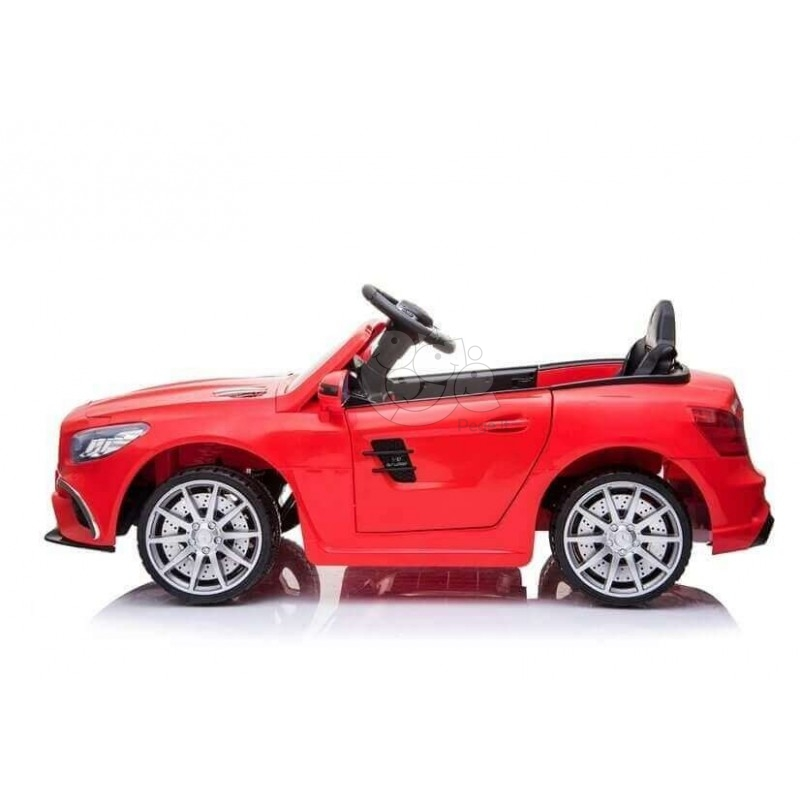 Elektromobilis MERCEDES SL63 raudonas 12V