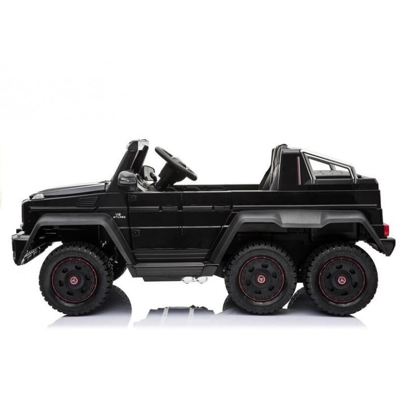 Elektromobilis MERCEDES 6X45W 12V juodas