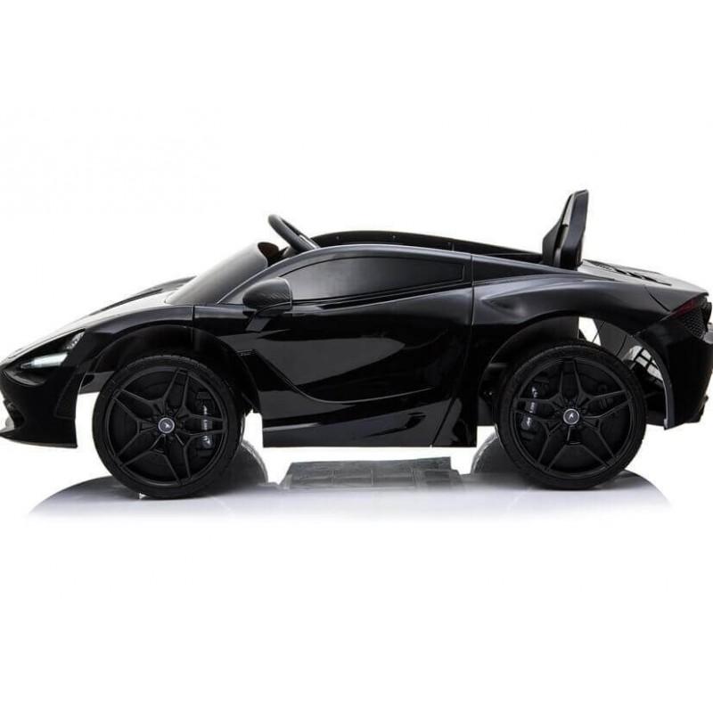 Elektromobilis MCLAREN 720 S juodas lakuotas 12V
