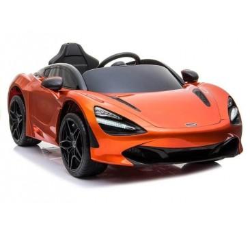 Elektromobilis MCLAREN 720 S oranžinis lakuotas 12V