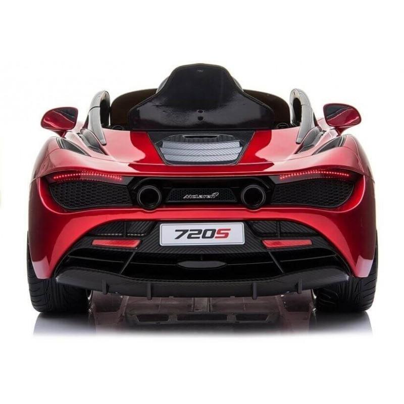 Elektromobilis MCLAREN 720 S raudonas lakuotas 12V