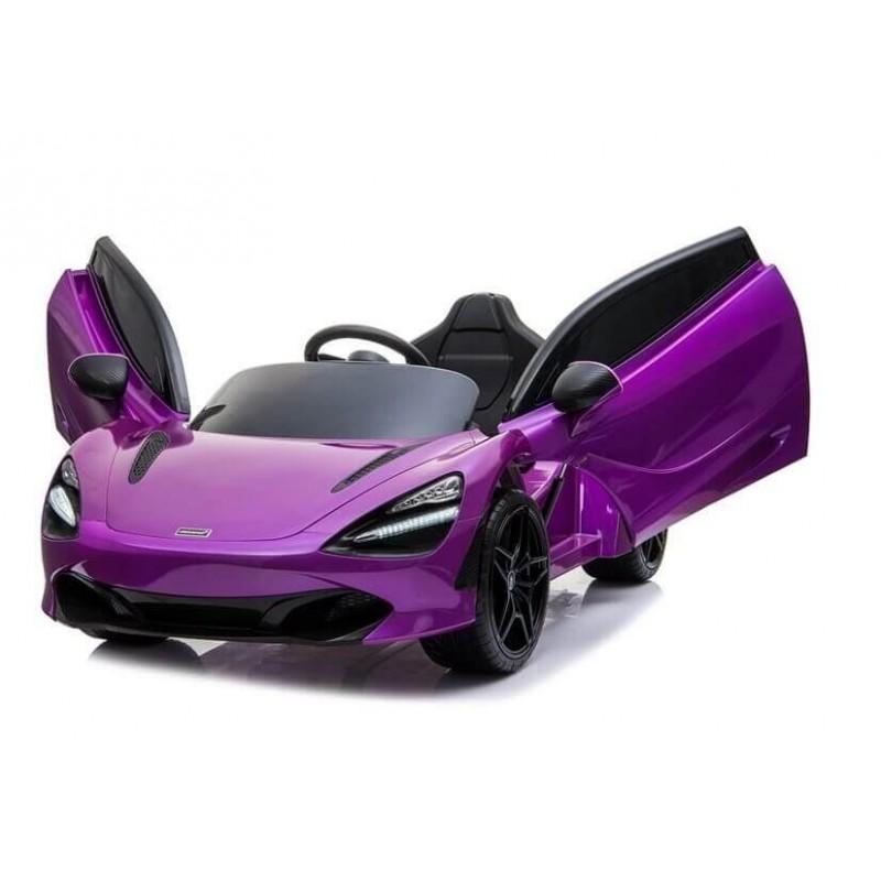 Elektromobilis MCLAREN 720 S violetinis lakuotas 12V
