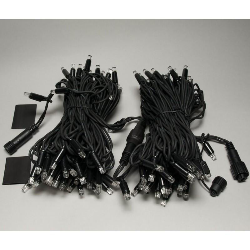 Universali LED girlianda 20 m 120 diodų šaltai balta
