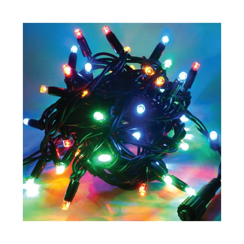 Universali LED girlianda 20 m 120 diodų MULTICOLOR