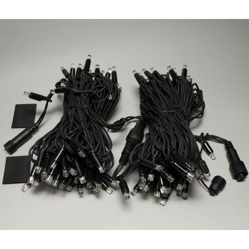 Universali LED girlianda 20 m 120 diodų šiltai balta FLASH