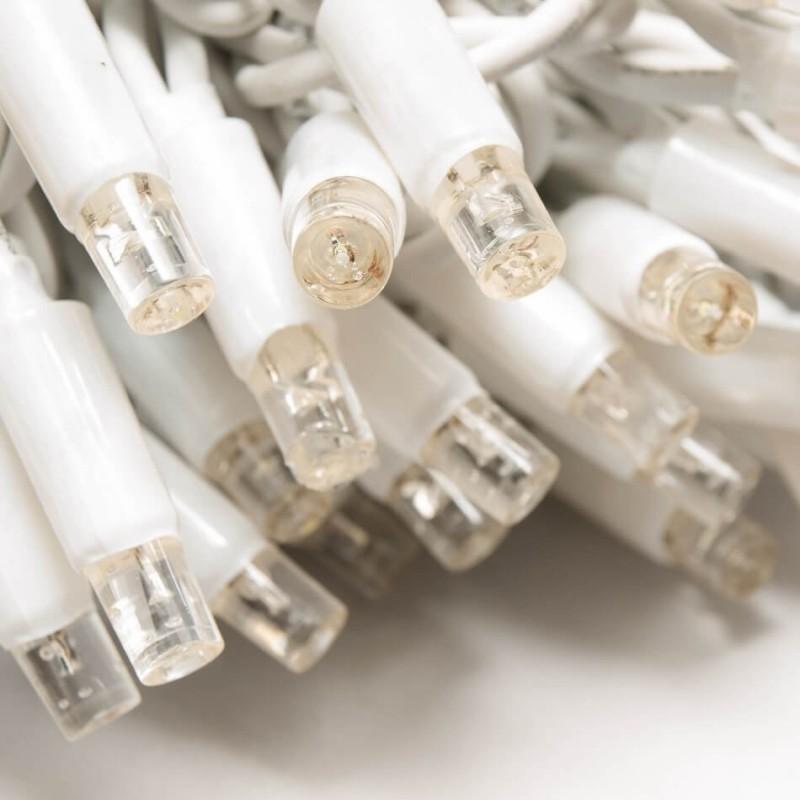 LED girlianda varvekliai 114 diodų 3 m H 0,5 m FLASH šiltai balta
