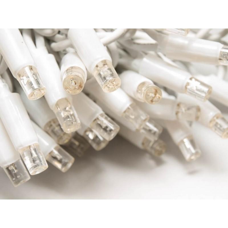 LED girlianda užuolaida 150 diodų 1 m H 1,5 m šiltai balta FLASH