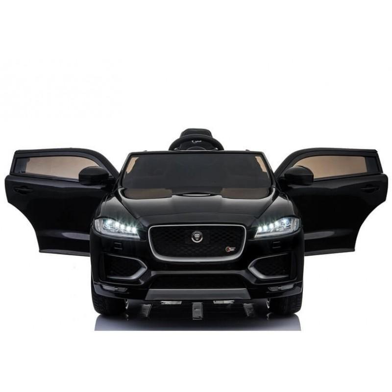 Elektromobilis JAGUAR F-PACE juodas 12V