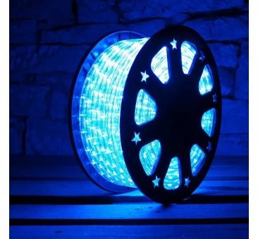Lankstus šviečiantis LED kabelis 50 m, karp. kas 1 m mėlyna