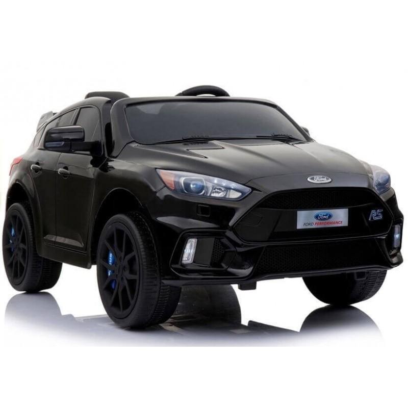 Elektromobilis FORD FOCUS RS juodas lakuotas 12V