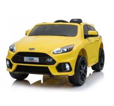 Elektromobilis FORD FOCUS RS geltonas 12V