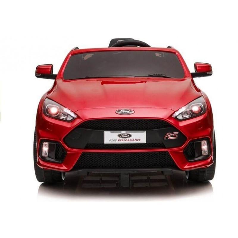 Elektromobilis FORD FOCUS RS raudonas lakuotas 12V