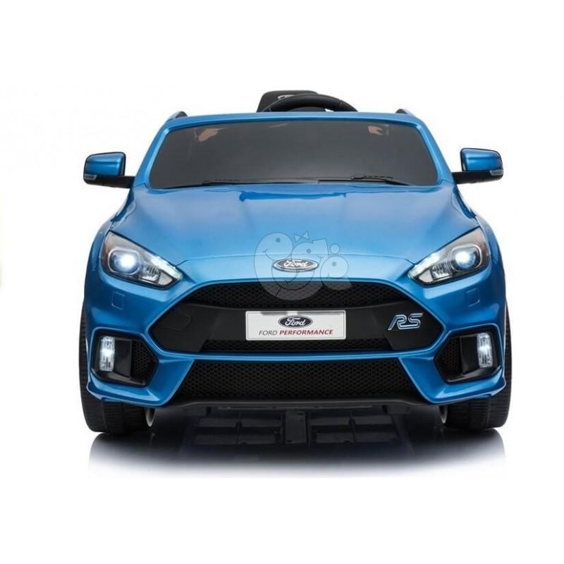 Elektromobilis FORD FOCUS RS mėlynas lakuotas 12V