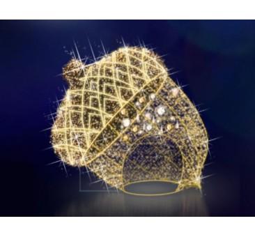 3D LED dekoracija žaisliukas GILĖ  500 x 480 x 500