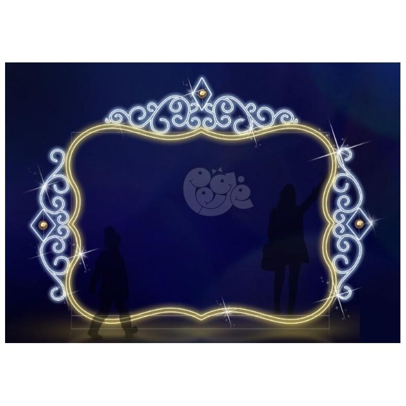 2D LED dekoracija VEIDRODIS 450 x 320
