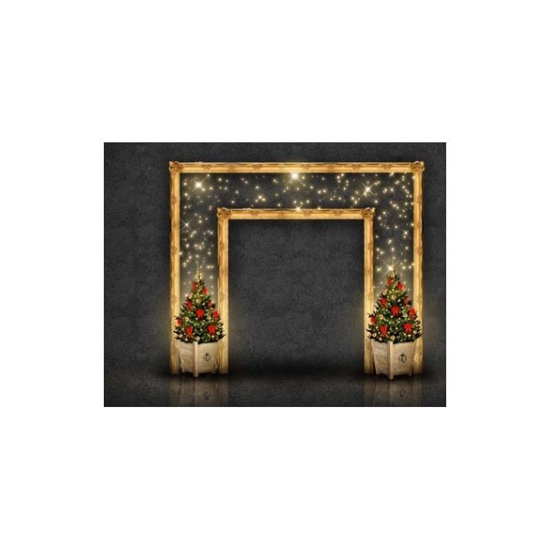 3D vartai RĖMELIS 3 x 3 m