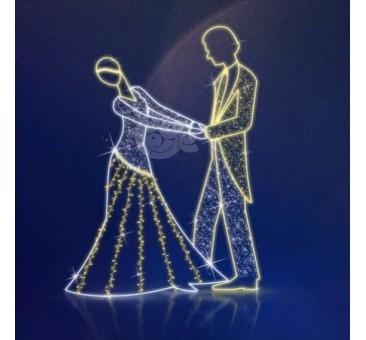 2D LED dekoracija ŠOKANTI PORA 145 x 200