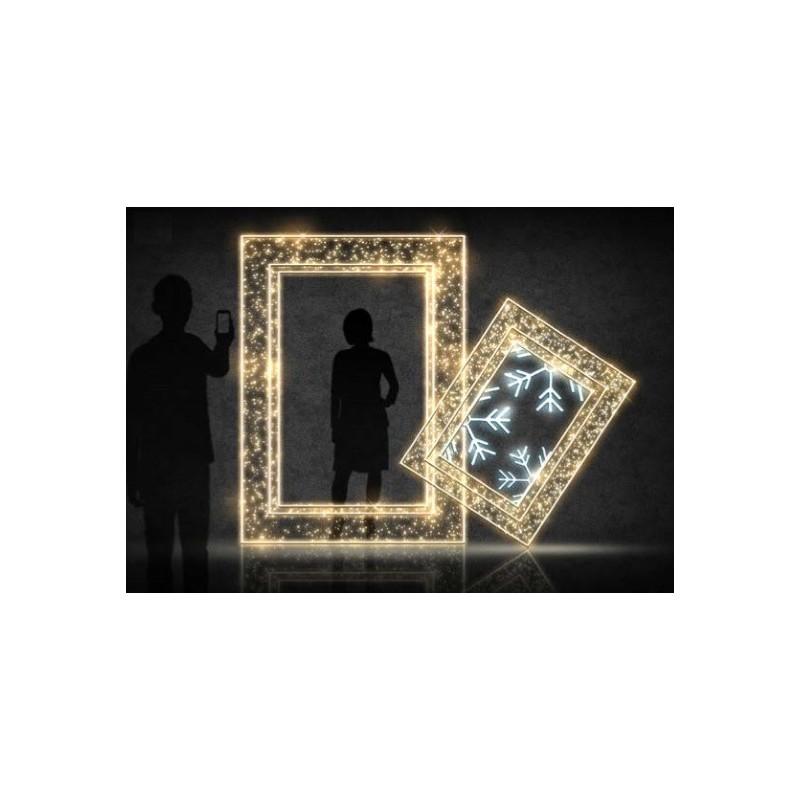3D nuotraukų rėmelis 2,5 x 2,5 m