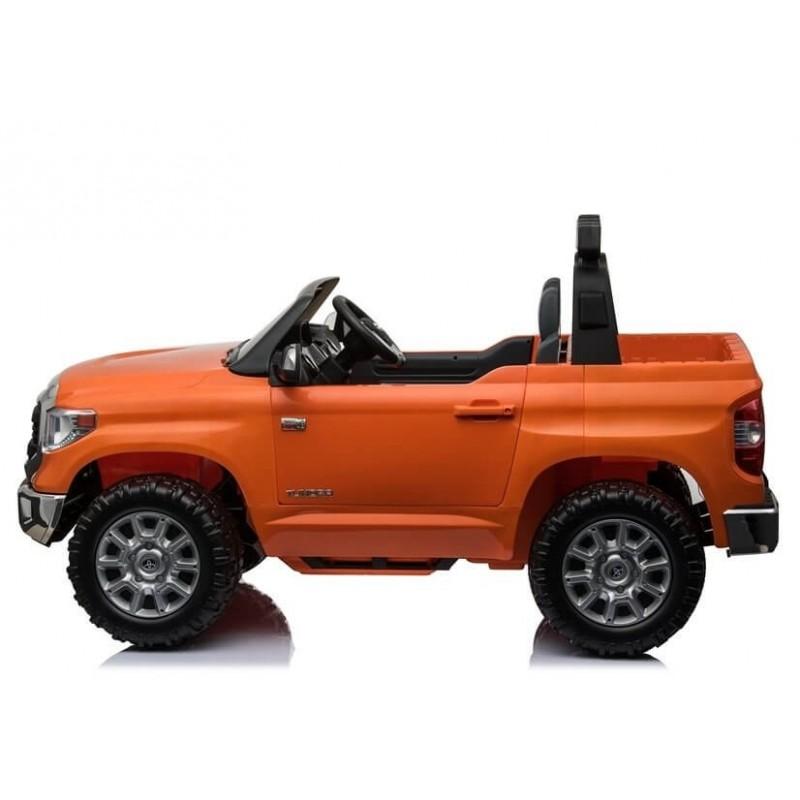 Elektromobilis TOYOTA TUNDRA 24V oranžinis su nuotoliniu valdymu