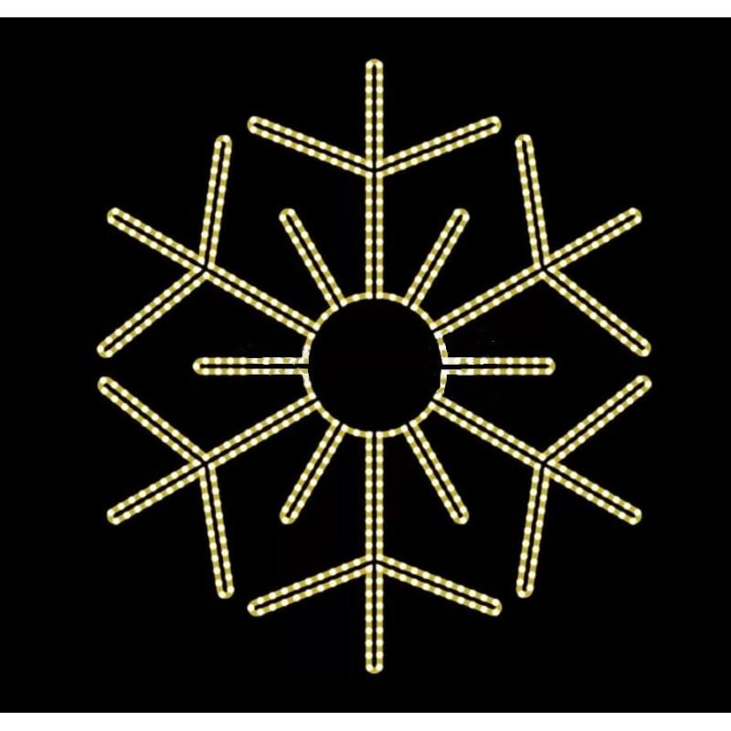 2D LED dekoracija ŠALNA 140 cm