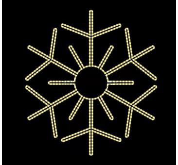 2D LED dekoracija ŠALNA 80 cm