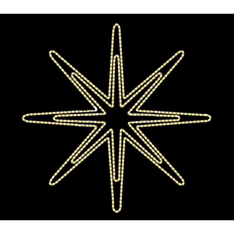 2D LED dekoracija AZAR 145 cm