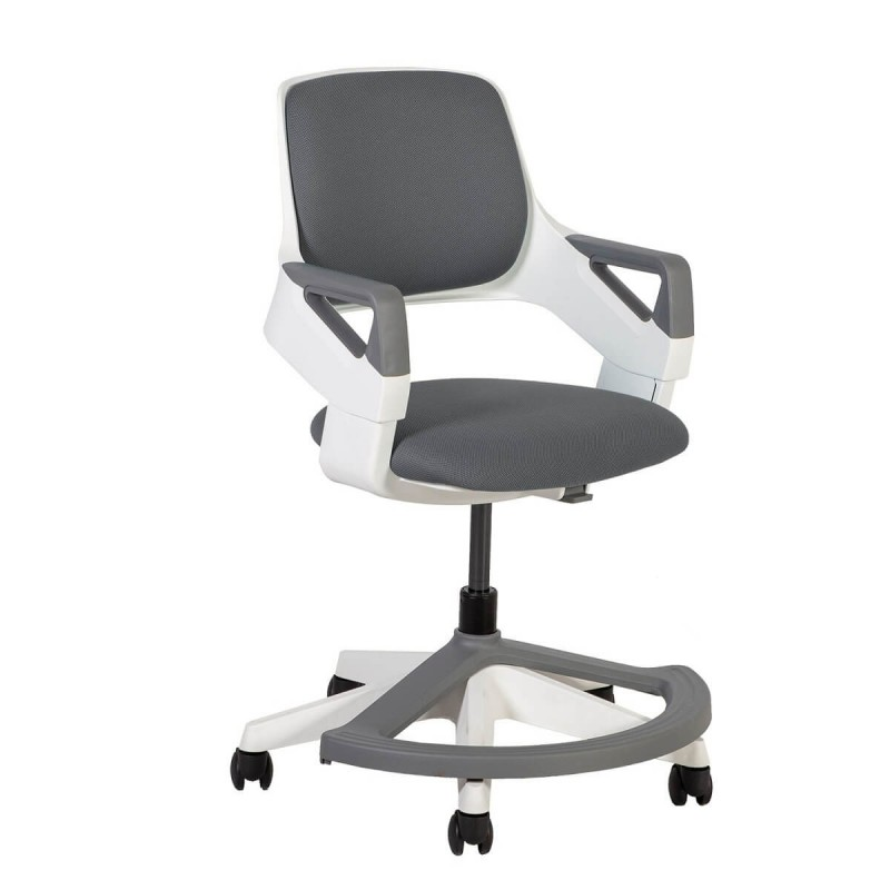 Auganti vaikiška kėdė ROCK pilka