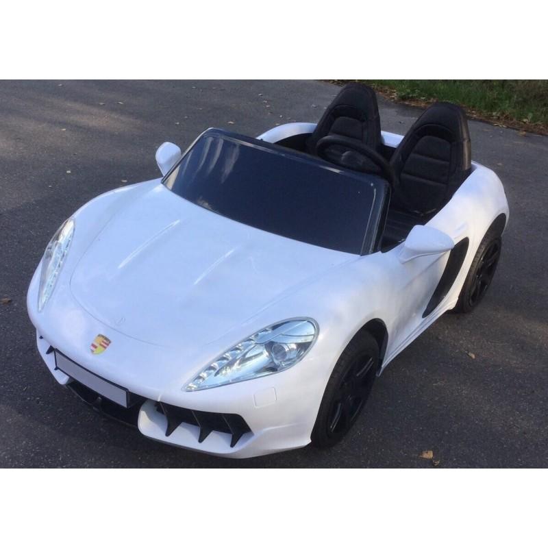 Elektromobilis SUPERCAR SPORT 24 V baltas