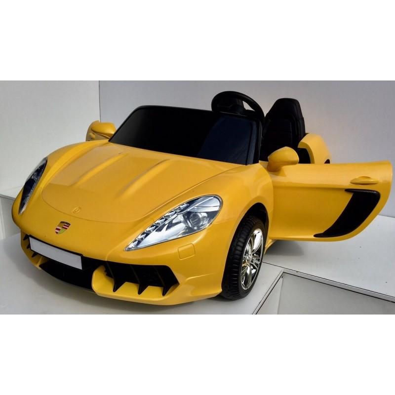 Elektromobilis SUPERDRIFT 12 V geltonas