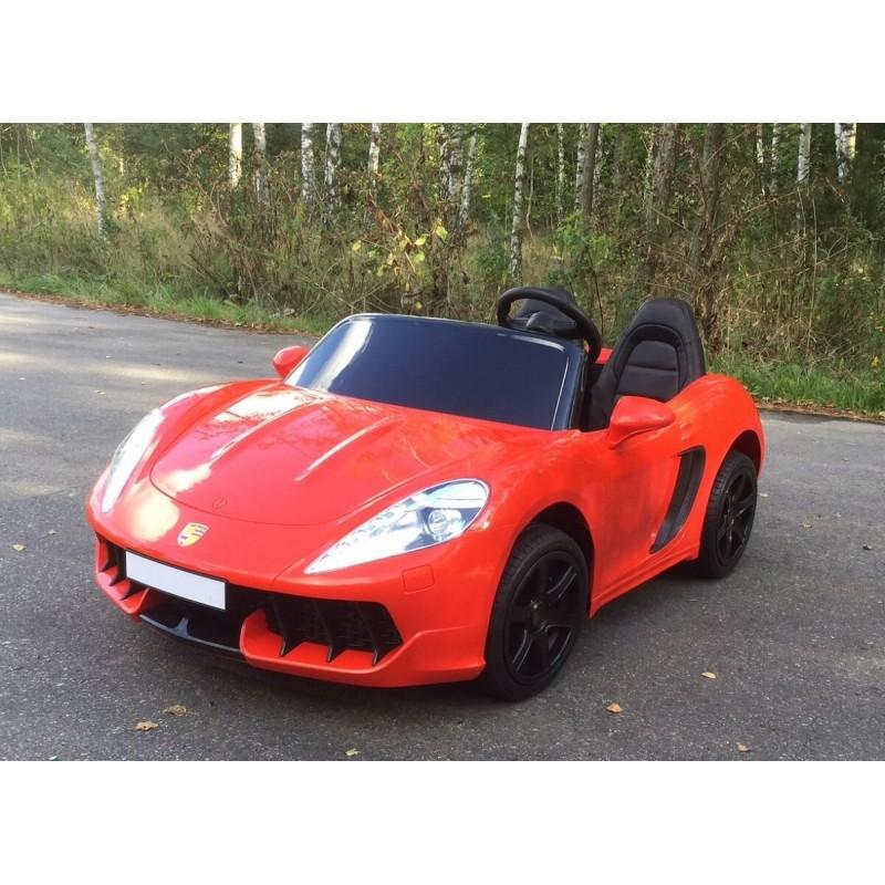 Elektromobilis SUPERDRIFT 24 V raudonas
