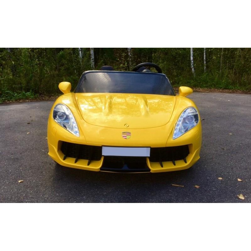 Elektromobilis SUPERDRIFT 24 V geltonas