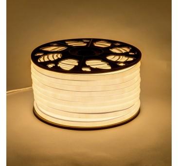 NEON LED šviečianti juosta šiltai balta