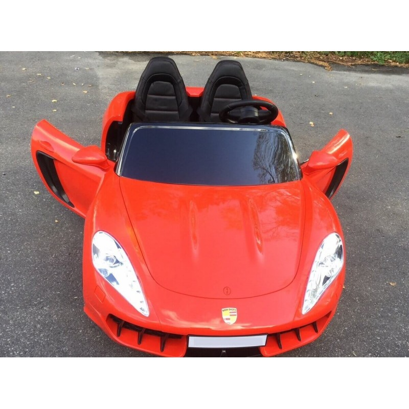 Elektromobilis SUPERDRIFT 24 V lakuotas raudonas