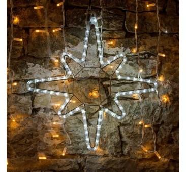 2D LED dekoracija SNAIGĖ 50 cm