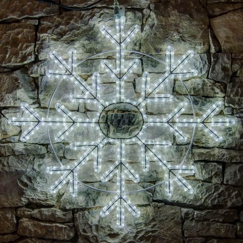 2D LED dekoracija SNAIGĖ 85 cm