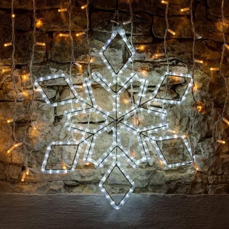 2D LED dekoracija SNAIGĖ 65 cm