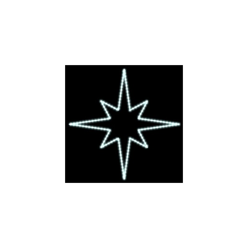 2D LED dekoracija SNAIGĖ 80 cm