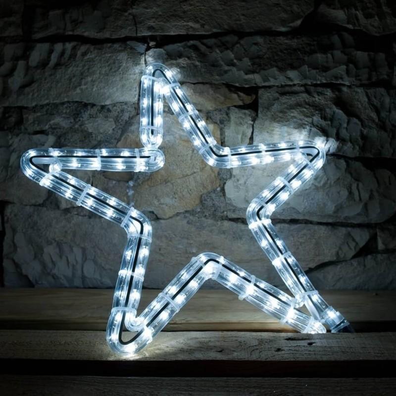 2D LED dekoracija ŽVAIGŽDĖ 40 cm