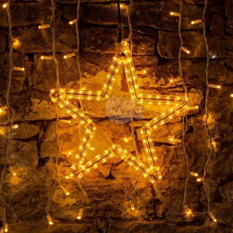 2D LED dekoracija ŽVAIGŽDĖ 60 cm