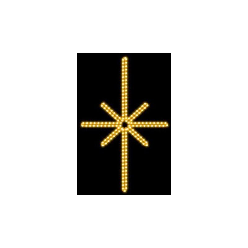 2D LED dekoracija ŽVAIGŽDĖ 55 cm