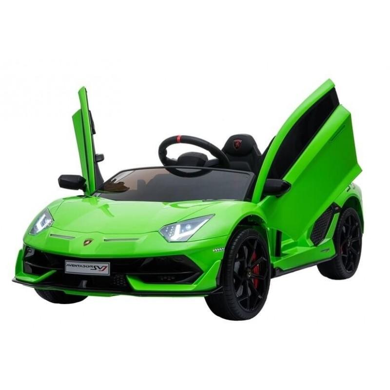 Elektromobilis LAMBORGHINI AVENTADOR 12 V žalias