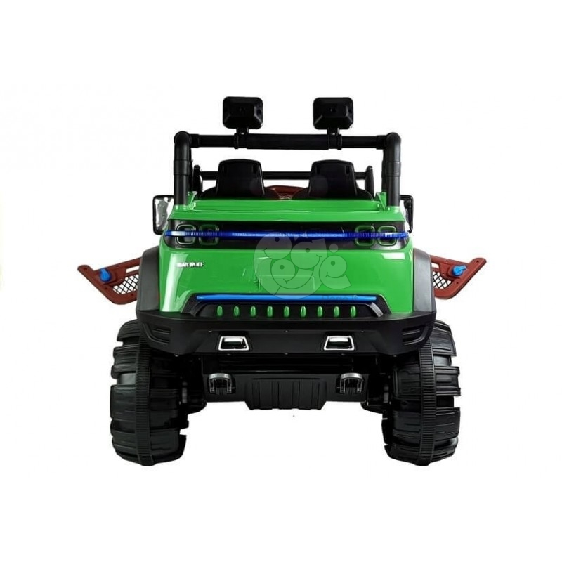 Elektromobilis JEEP KP-6699 4 x 45 W 12 V žalias