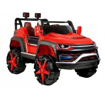 Elektromobilis JEEP KP-6699 4 x 45 W 12 V raudonas