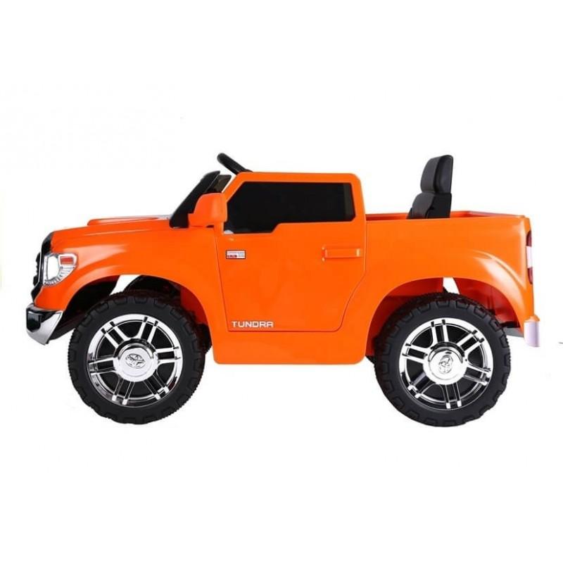 Elektromobilis TOYOTA TUNDRA JJ 2 x 45 W lakuotas oranžinis