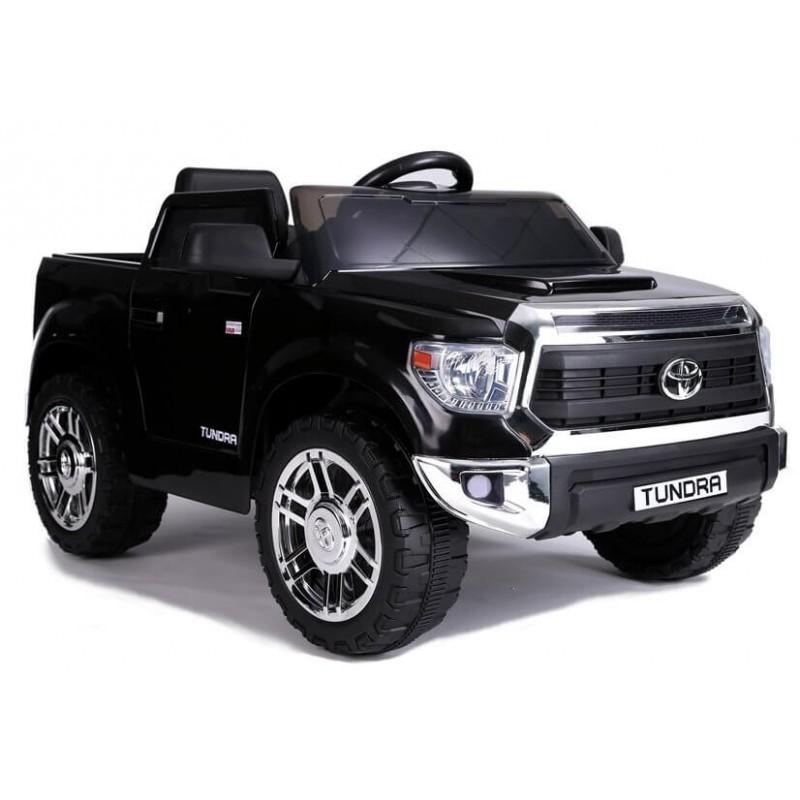 Elektromobilis TOYOTA TUNDRA JJ 2 x 45 W lakuotas juodas