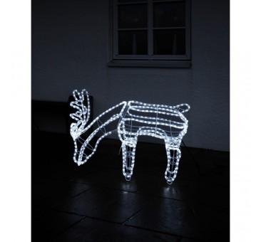 3D dekoracija elnias, 85/59 cm, 432 LED